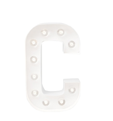 10454900001 MARQUEE LETTERS C