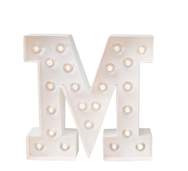 10454900003 MARQUEE LETTERS M