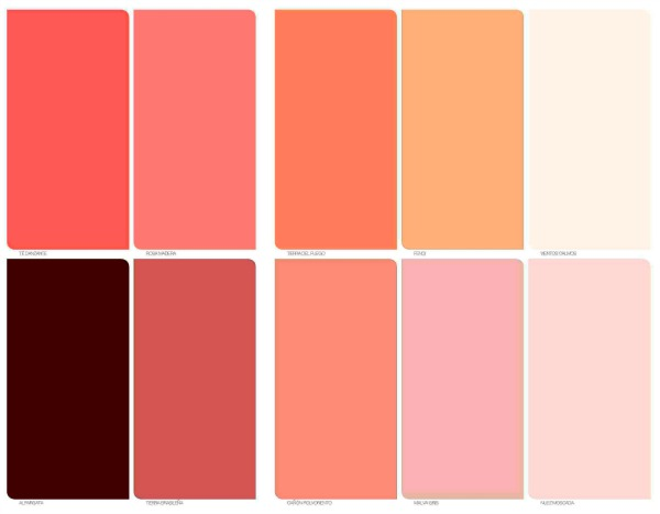 Tendencias de colores 2016 mandarina for De colores de colores