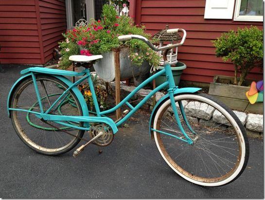 chalk paint bicicletas